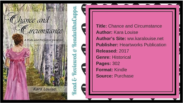 Chance and Circumstance by Kara Louise @readwithacuppa #readwithacuppa