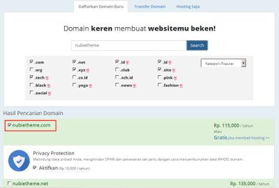 Bagaimana Cara Membeli Domain di Rumahweb
