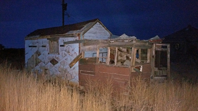 Abandoned house in Model, Colorado ghost town