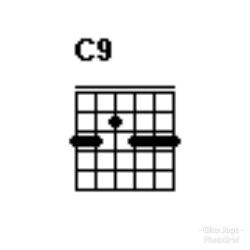 Chord gitar C9