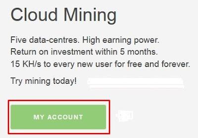 Cara Daftar dan Menambang Bitcoin di HashOcean Gratis 15khs