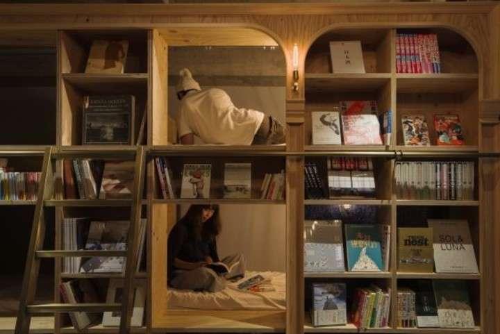 Bibliotecas para quedarse a vivir
