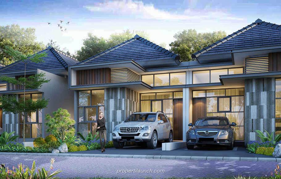 Dijual Rumah Cluster Alpen Golden Hills Bogor