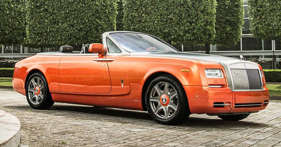 Rolls royce phantom dhc beverly hills edition feels right for Rolls royce of beverly hills