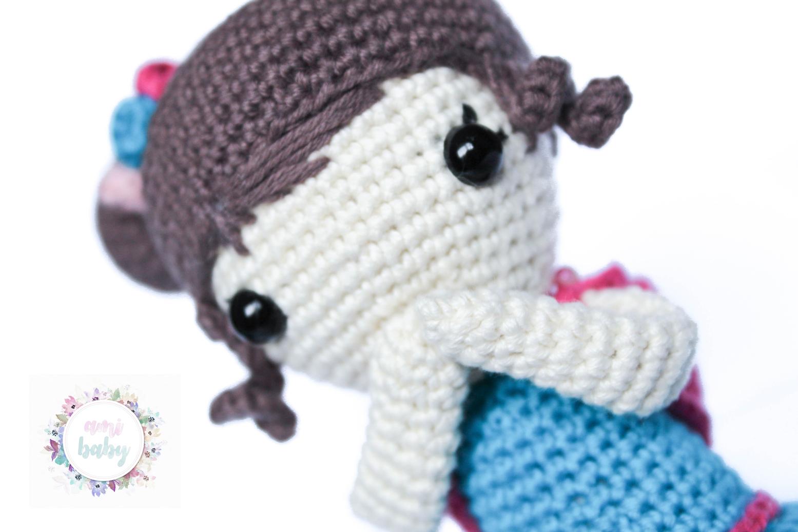 Muñeca Chloe: Patrón gratuito la crocheteria. - amibaby