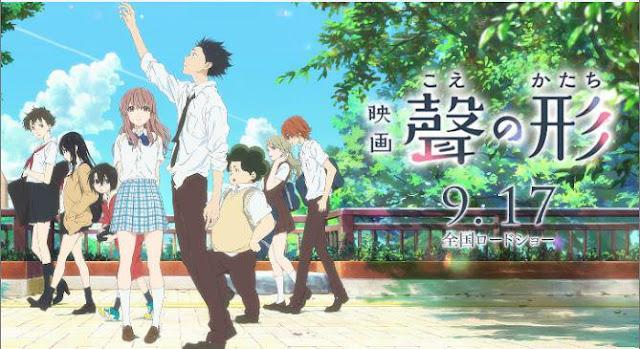 Anime Romance Slice of Life Terbaik - Koe no Katachi