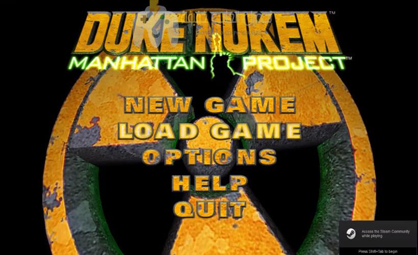 تحميل لعبة Duke Nukem Manhattan Project