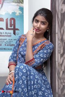 Actress Ashmita Pictures in Salwar Kameez at Atti Movie Team Interview  0004
