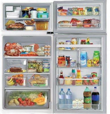 como organizar a geladeira corretamente