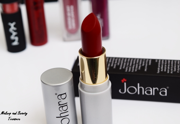 johara lipstick review