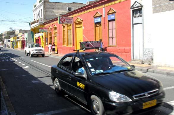 Como andar de táxi em Calama, Chile