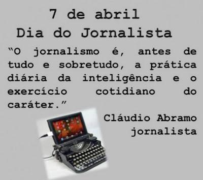 Dia do Jornalista: por que é comemorado em 7 de abril?