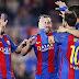 Messi no meio do caos