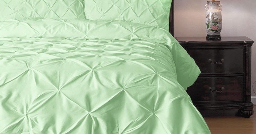 Total Fab Alive  BreezyCool Mint Colored Bedding and