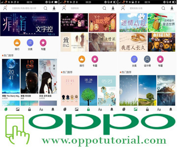 Cobain Update Tema Oppo China Ini dan Lupakan Tema Oppo Global