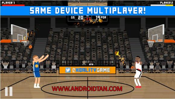 Free Download Hardwood Rivals Basketball Mod Apk v1.2.2 Unlimited Money Terbaru 2017 Gratis