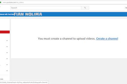 Cara Mudah Daftar/Buat Channel Youtube yang Keren