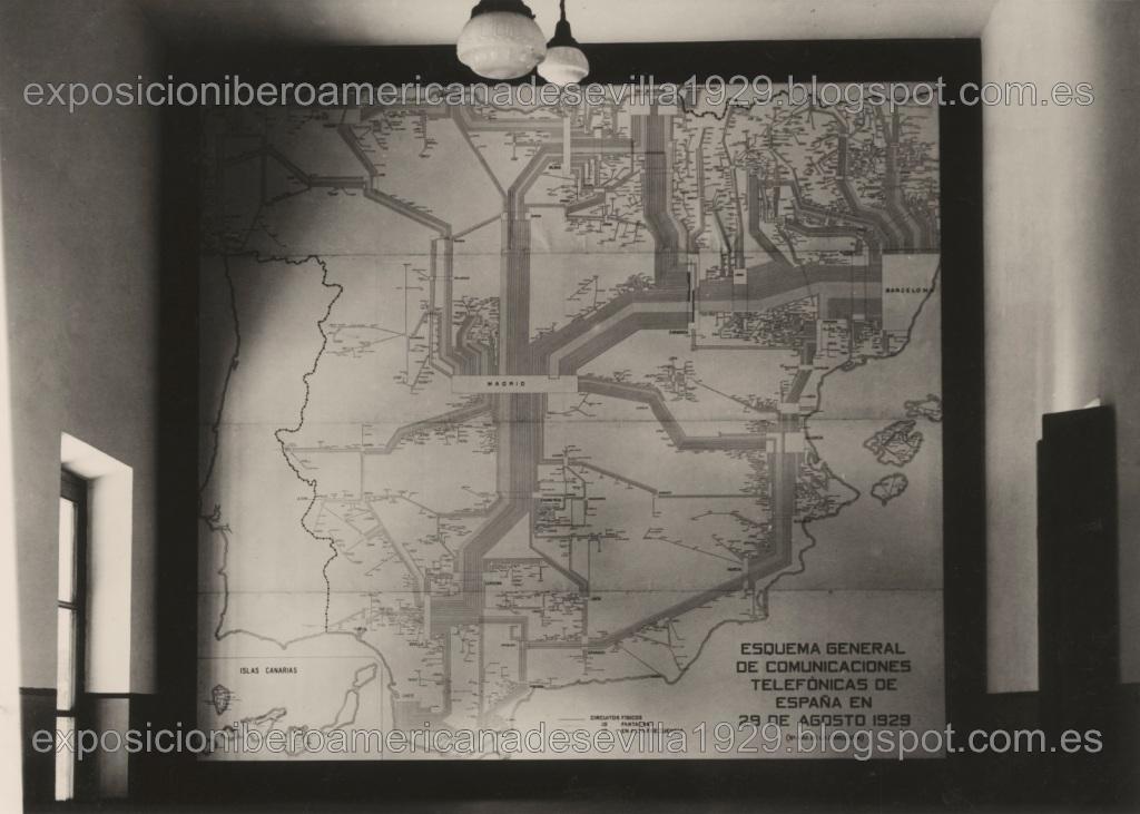 8.- Pabellón de la Cía. Telefónica Nacional de España