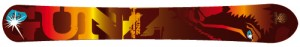 Monoski Snowgunz ALPINE ROCKET 198