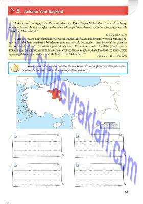 8. Sınıf İnkılap Tarihi Top Yayınları Çalışma Kitabı Cevapları Sayfa 51