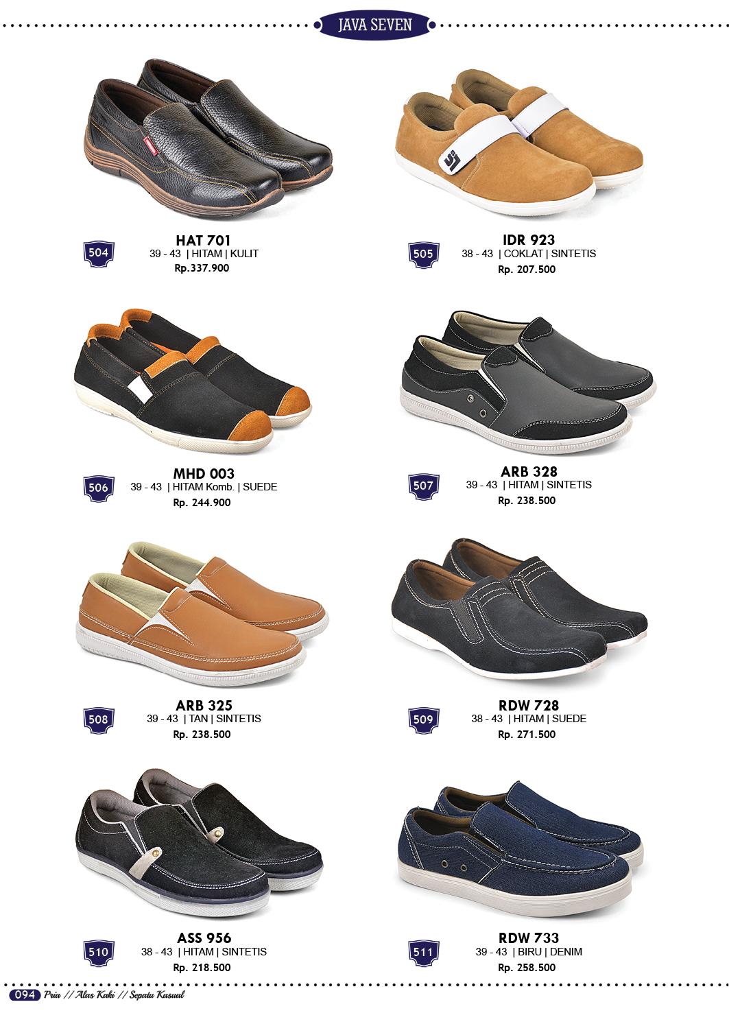 Sepatu Sandal dan Tas Terbaru Katalog Java Seven 2018 Grosir Ecer 56808d11b7