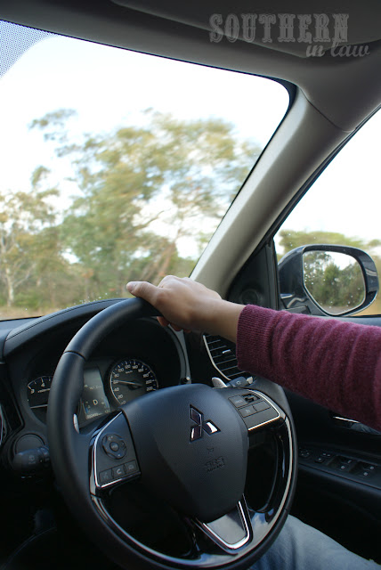 Driving Through the Royal National Park in the Mitsubishi Outlander