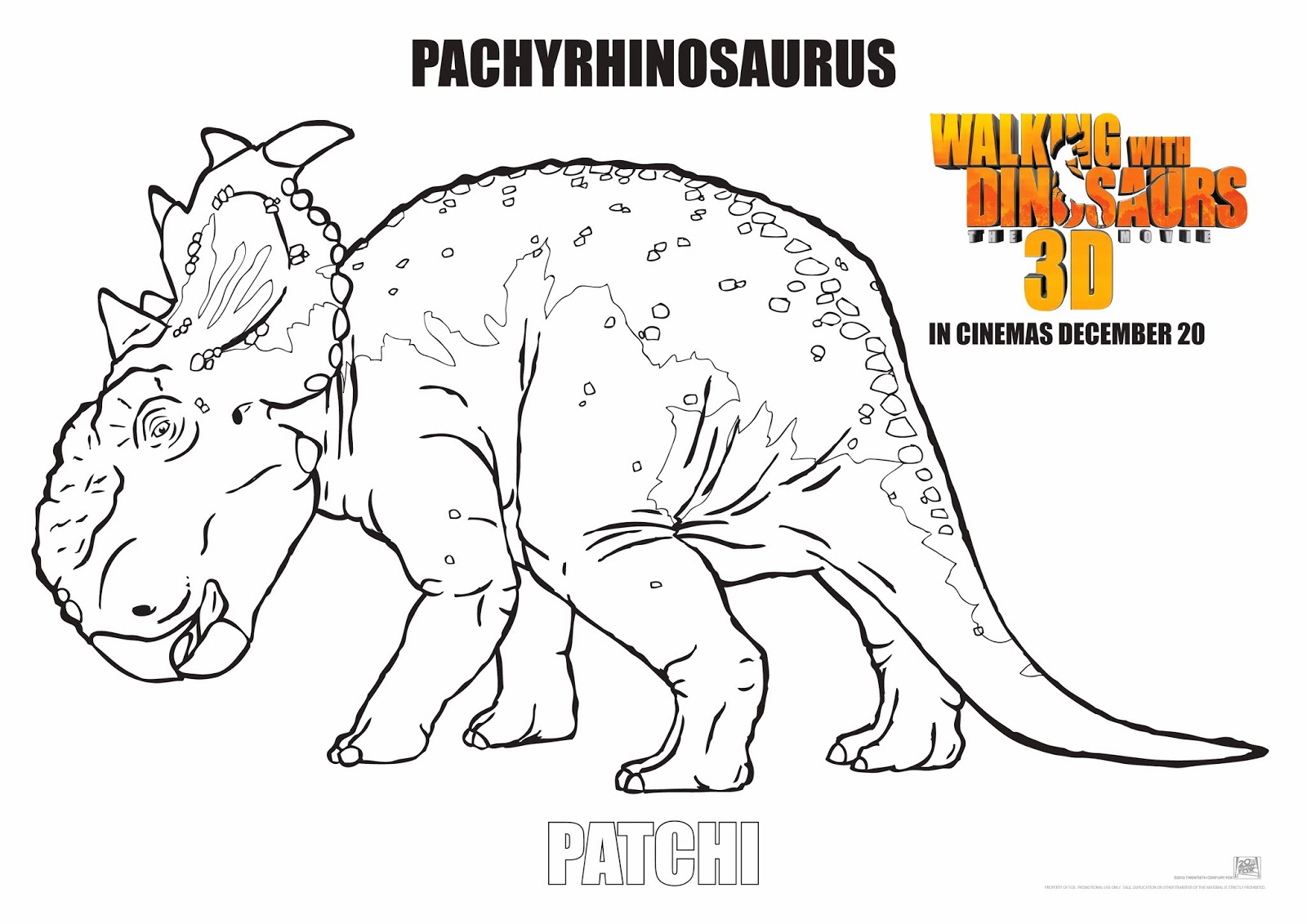 walking with dinosaurs coloring pages - photo #12