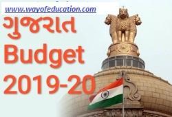 Gujarat Budget 2019-20 ICE RAJKOT