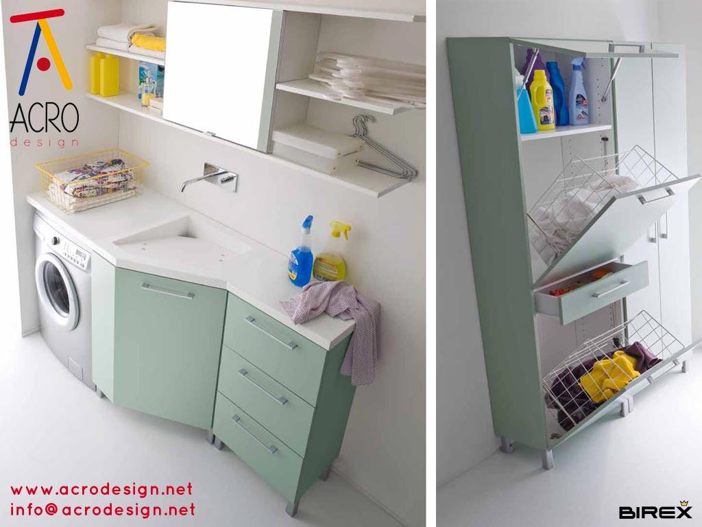 Acro design blog lavanderia for Arredo bagno lavatrice
