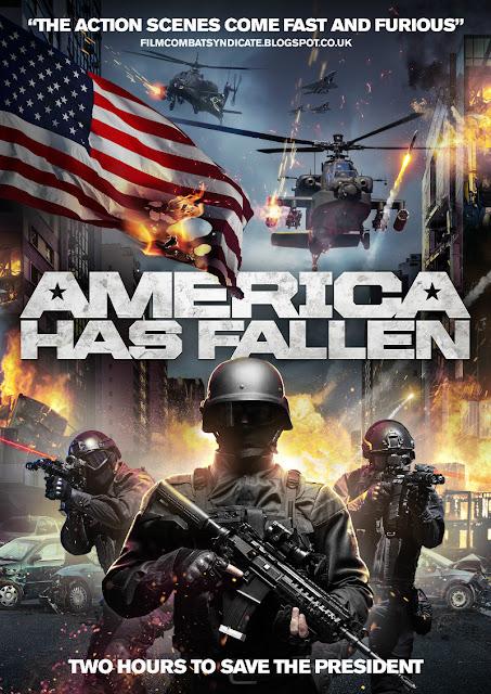america has fallen poster
