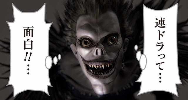 Ryuk z Death Note