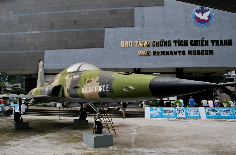 Museo de la Guerra en Ho Chi Minh