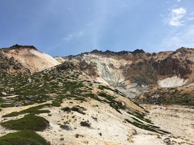 恵山の地獄地帯
