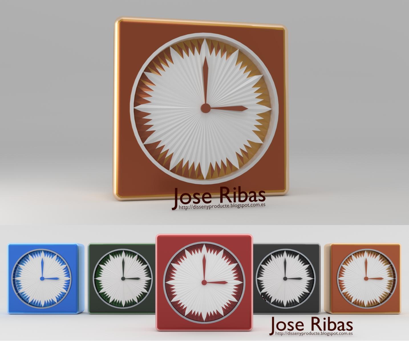 Nuevo dise o reloj de pared y sobremesa disseny - Reloj pared diseno ...