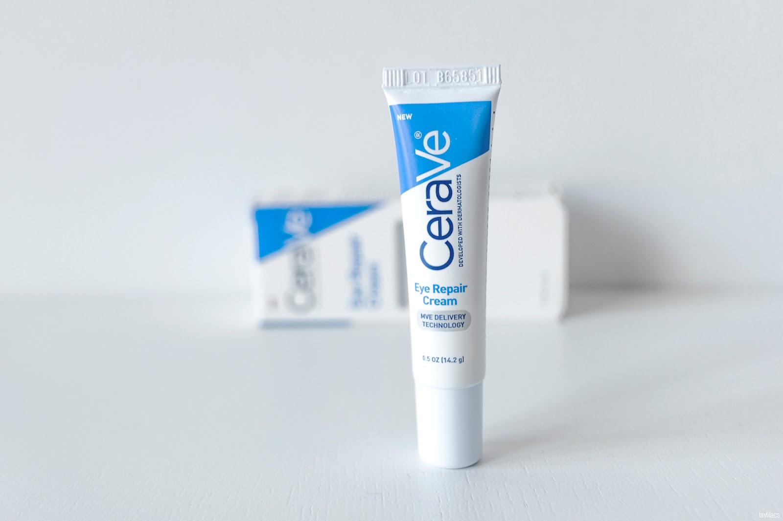 lavlilacs CeraVe Eye Repair Cream Review
