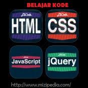 Belajar Kode CSS, JavaScript, jQuery, HTML Pada Blogger