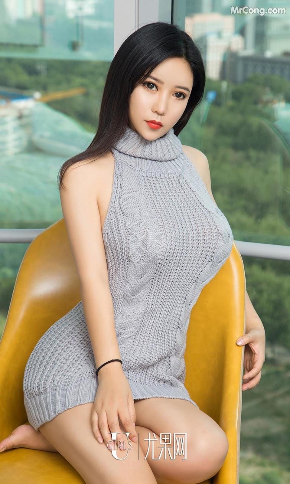 Image UGIRLS-Ai-You-Wu-App-No.1129-Ai-Na-MrCong.com-005 in post UGIRLS – Ai You Wu App No.1129: Người mẫu Ai Na (艾娜) (35 ảnh)