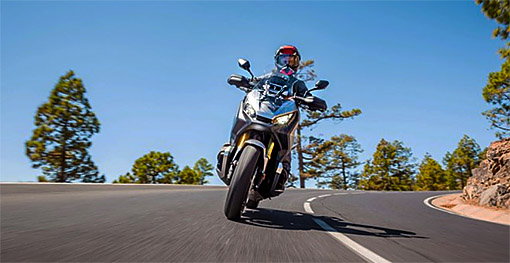 Driving the Honda X-ADV