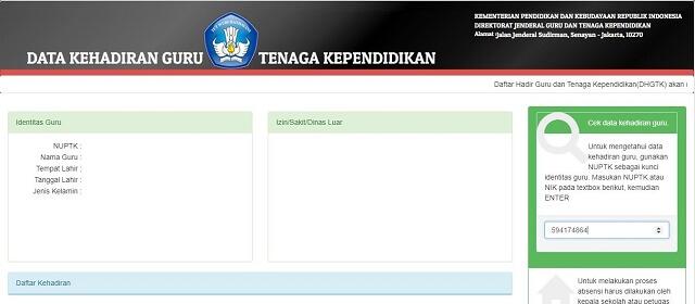 Cek DHGTK dan Info GTK Persiapan SKTP Triwulan 3