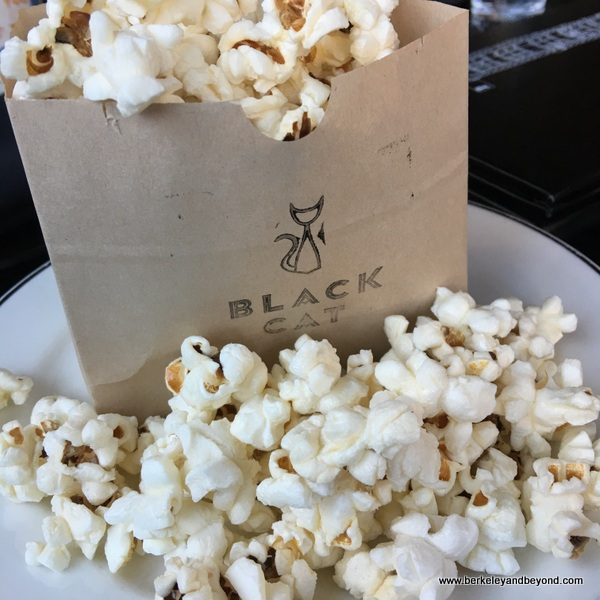 popcorn appetizer at the Black Cat in San Francisco, California