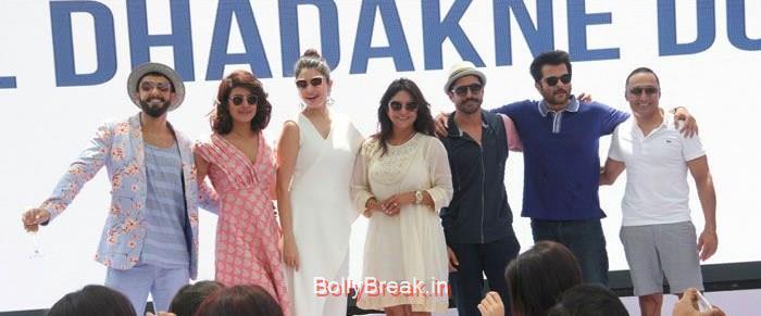 Ranveer Singh, Priyanka Chopra, Anushka Sharma, Shefali Shah, Farhan Akhtar, Anil Kapoor, Rahul Bose