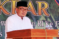 <b>Solidaritas untuk Lombok, Kota Bima Isi Peringatan HUT RI dengan Dzikir dan Do'a</b>