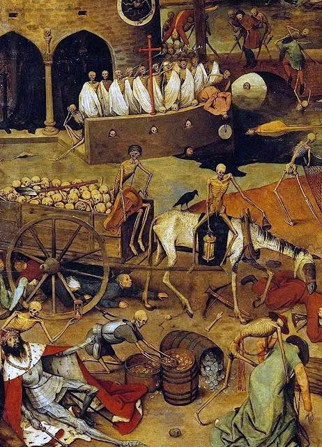 Triunfo da morte, Pieter Bruegel, detalhe