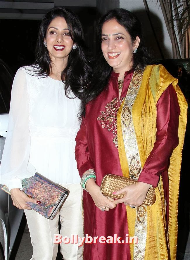Sridevi, Simone Khan Birthday Bash Pics