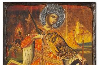 Πανηγυρικός Εσπερινός σήμερα στον Ιερό Ναό Αγίας Αικατερίνης, στην Πρέβεζα
