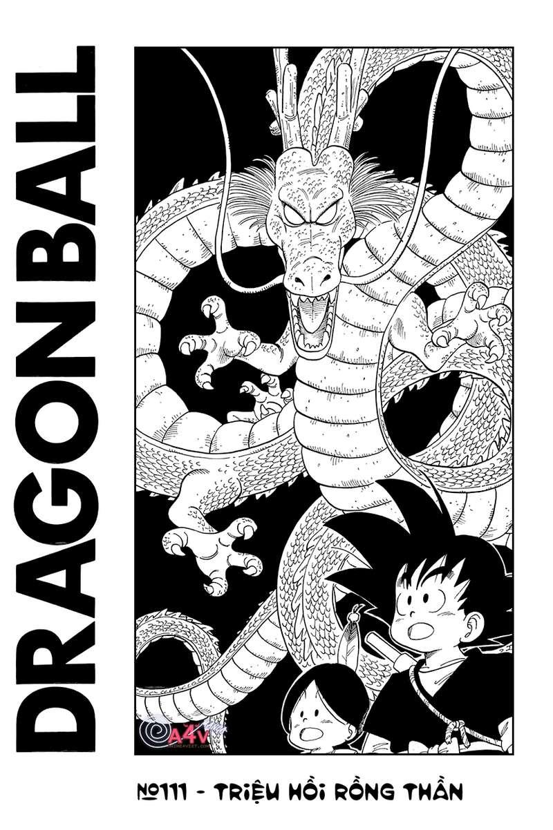 Dragon Ball chap 111 trang 1