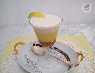 Vaso de Pastel Vegano de Limón, Express.