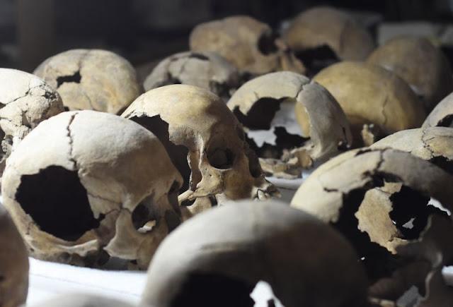 Skulls reveal human sacrifice secrets of Aztec city of Tenochtitlan