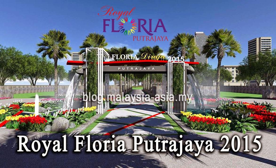 Royal FLORIA Putrajaya Flower Garden 2015