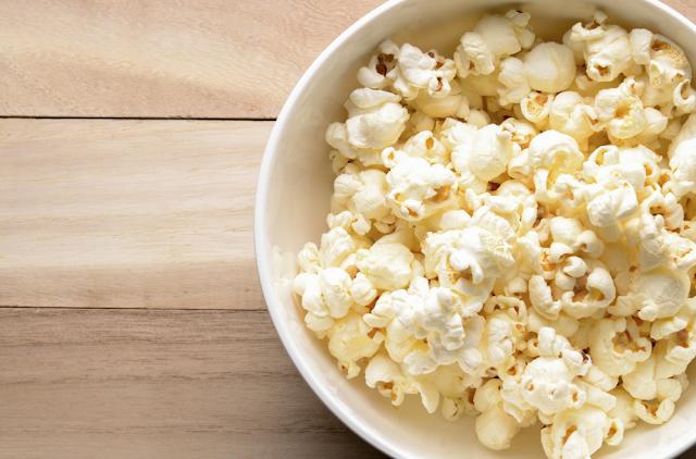popcorn selama diet
